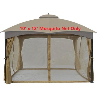 Universal 10 ft. x 12 ft. Gazebo Replacement Mosquito Netting (Mosquito Net Only)