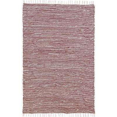 Brown Chenille 5 ft. x 8 ft. Area Rug