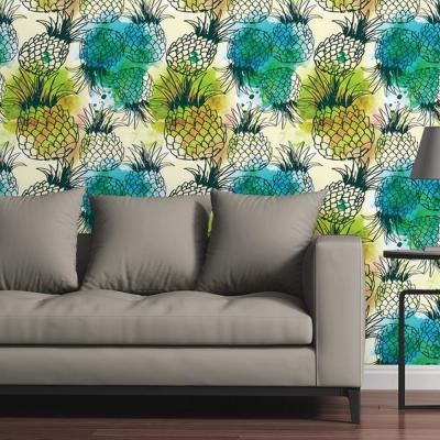 Pineapples by Raygun Removable Wallpaper Panel