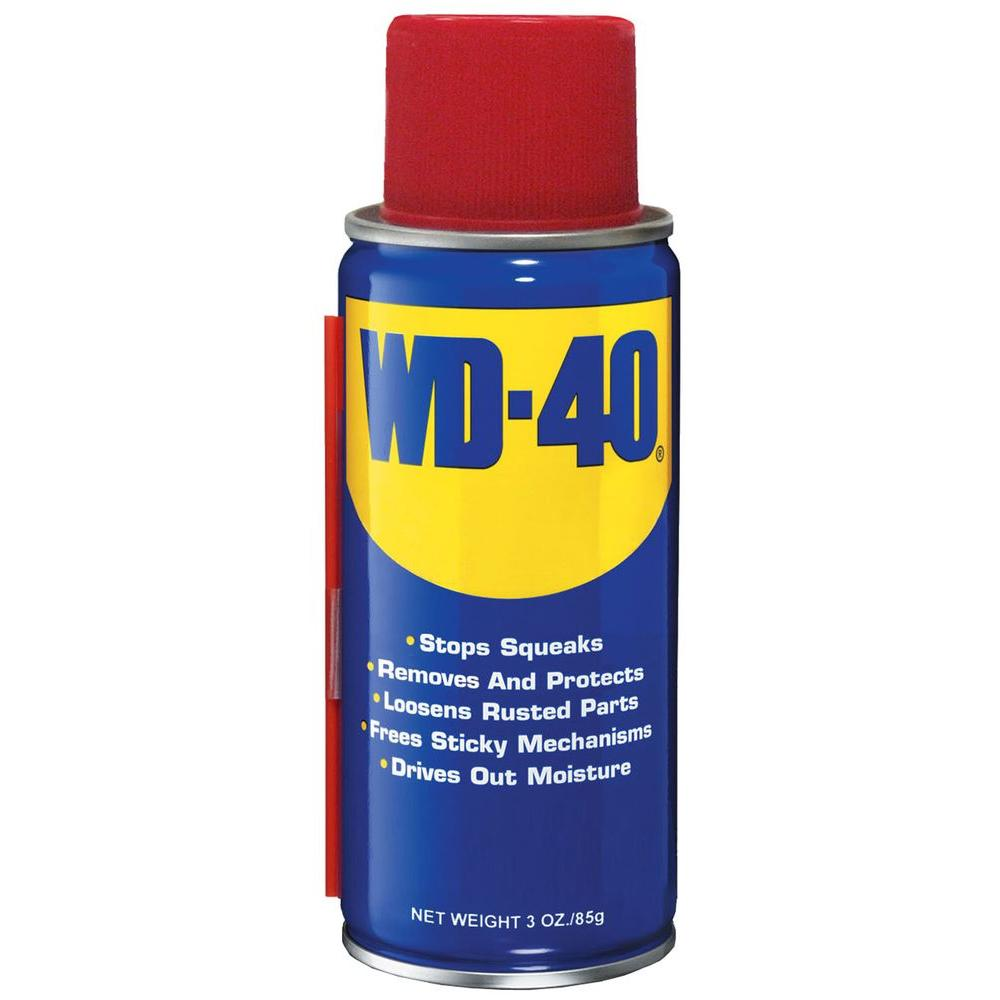 Wd 40 3 Oz Lubricant 110102 The Home Depot