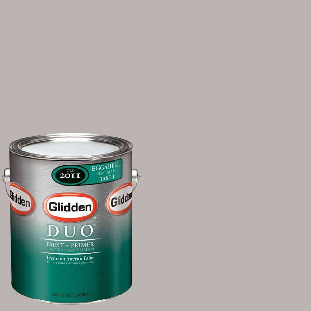 Glidden DUO Martha Stewart Living 1-gal. #MSL241-01E Cobblestone Eggshell Interior Paint with Primer-DISCONTINUED