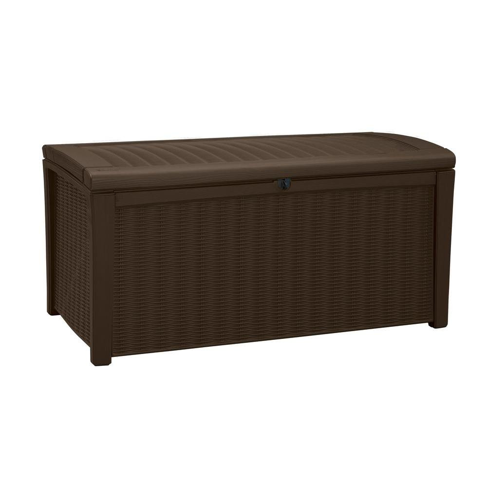 Borneo 110 Gal. Deck Box in Brown