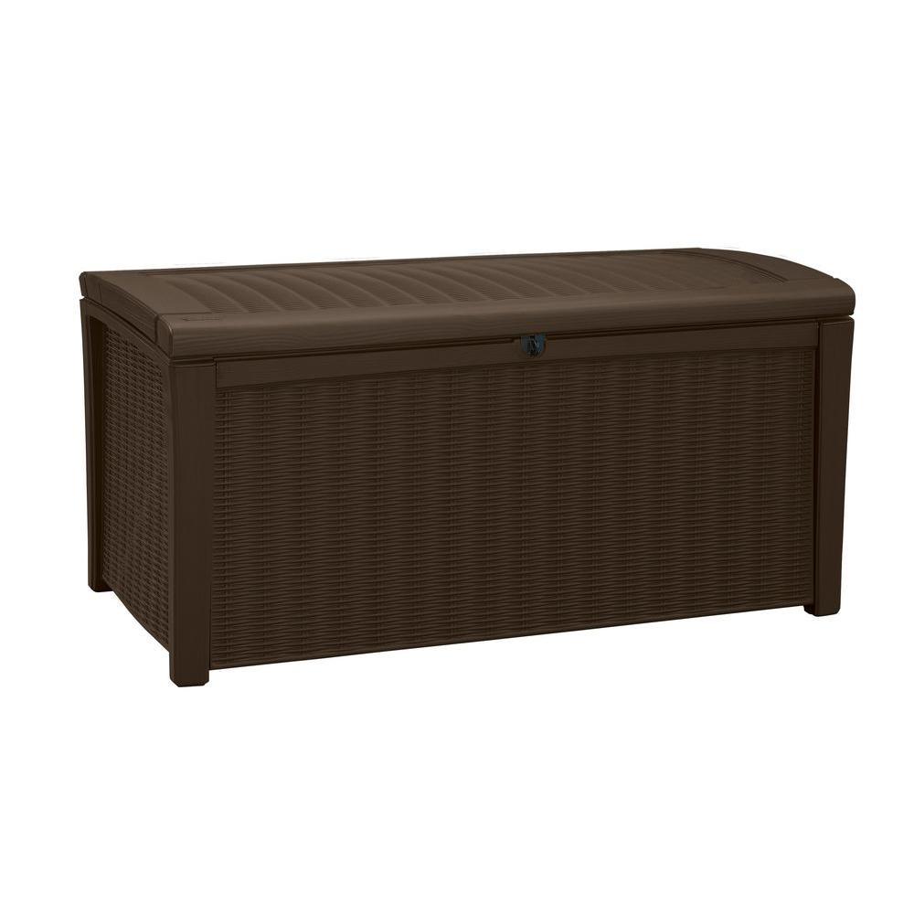 Borneo 110 Gal. Deck Box in Brown