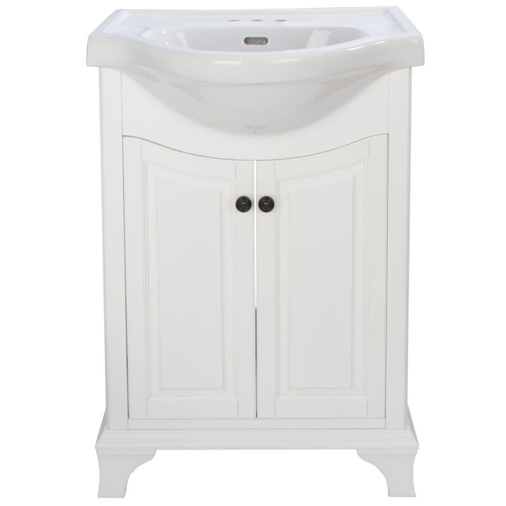 Home Decorators Collection Corsicana 26 In W X 19 In D Vanity In