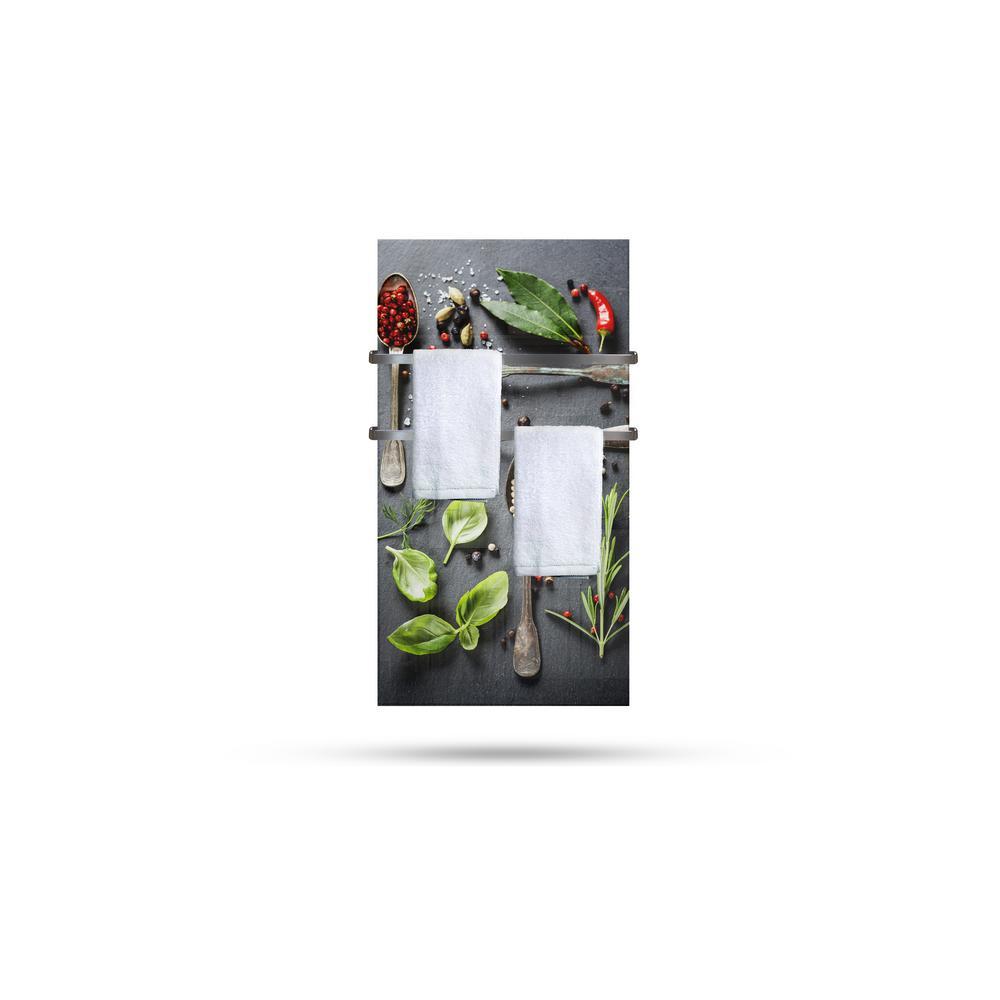 Heat Storm Glass Heater 750 Watt Radiant Wall Hanging