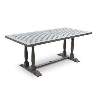 Lyon Rectangular Wood Outdoor Dining Table