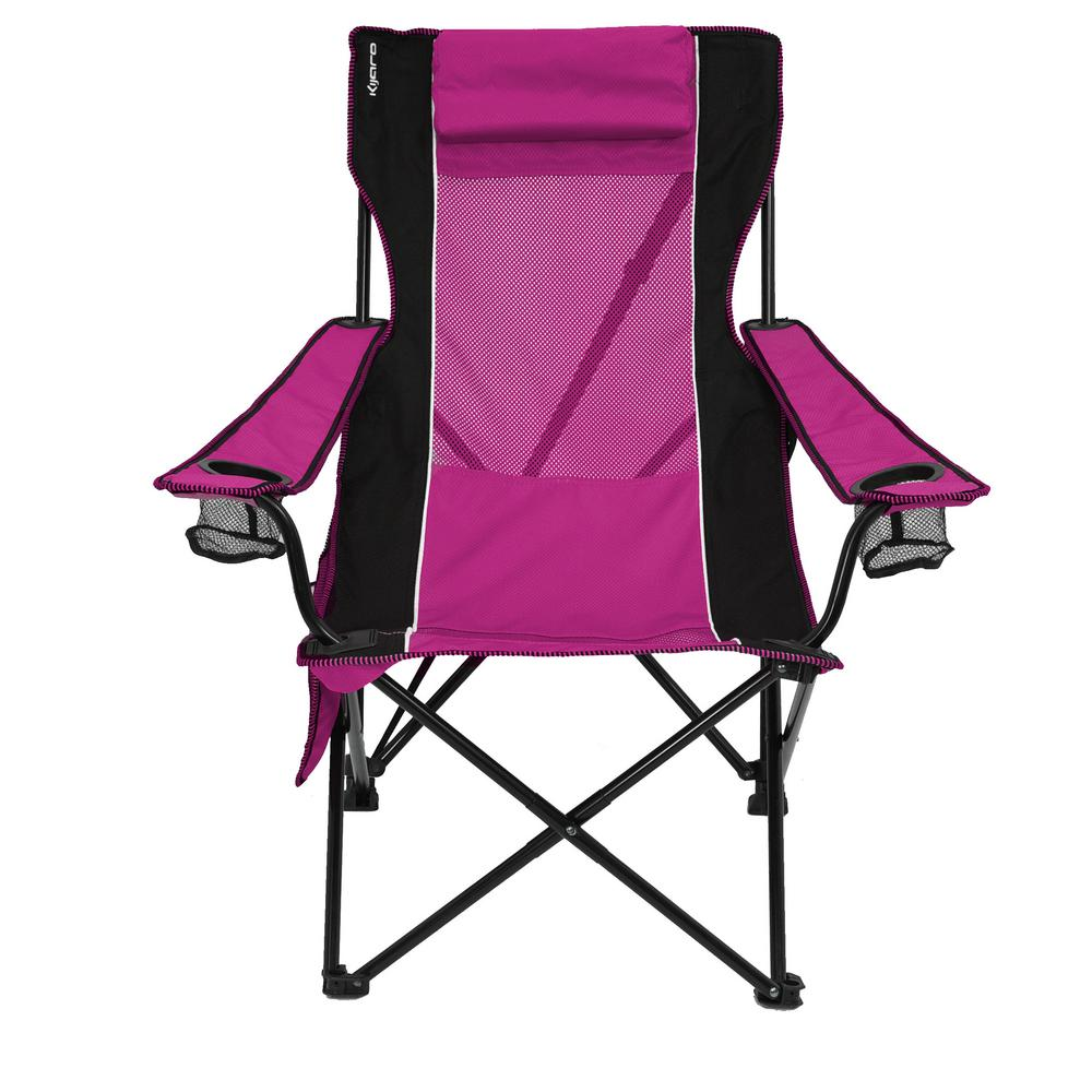 Remarkable Pink Camping Chair Gmtry Best Dining Table And Chair Ideas Images Gmtryco