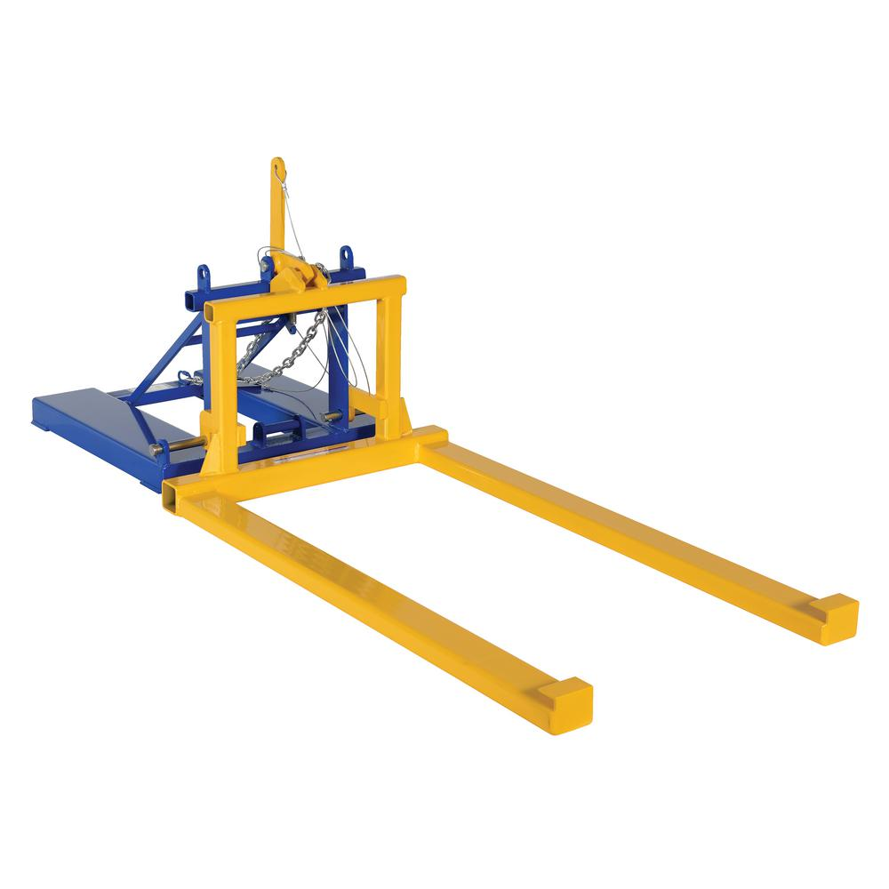 2,000 lb. Pallet Dumper/Retainer Fork Mount Attachment