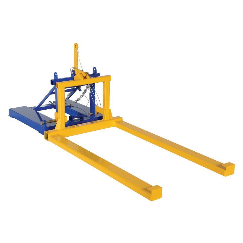 2,000 lb. Pallet Dumper/Retainer Fork Mount Attachment