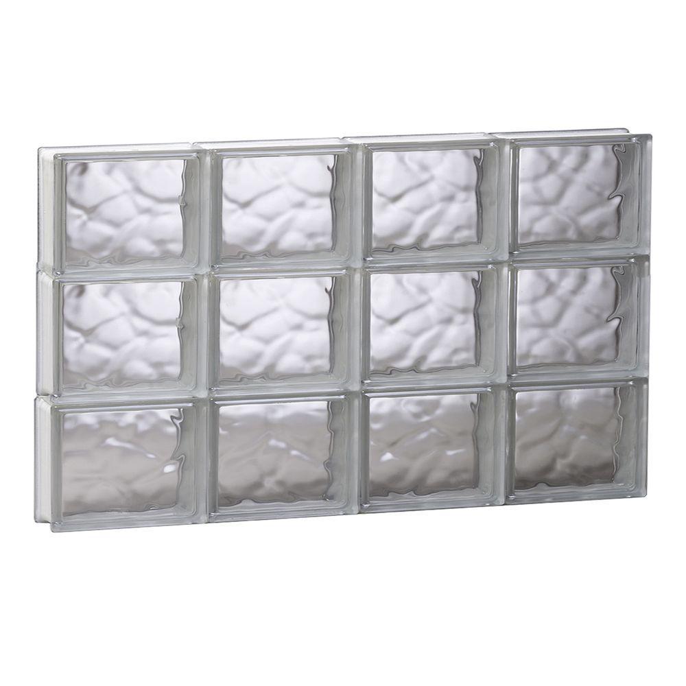 Home Depot Impact Resistant Windows : Glass block window non vented double pane impact resistant