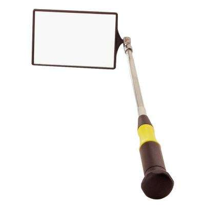 Ultra Tech 2 in. x 3 in. Telescoping Rectangular Inspection Mirror