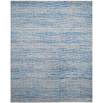 Adirondack Blue/Silver 6 ft. x 9 ft. Area Rug