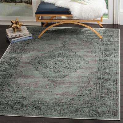 Vintage Gray 8 ft. 10 in. x 12 ft. 2 in. Area Rug