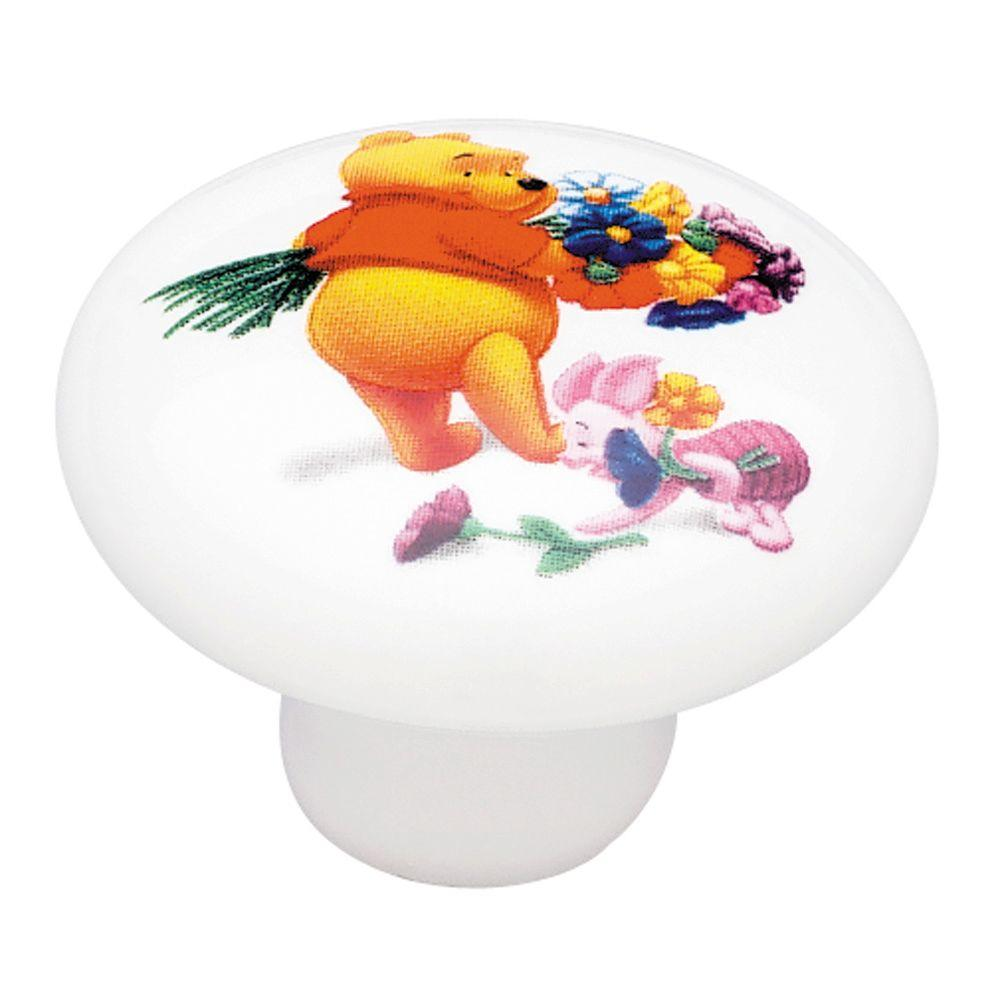 Liberty Disney 1-1/2 in. Pooh And Piglet Cabinet Knob-DISCONTINUED