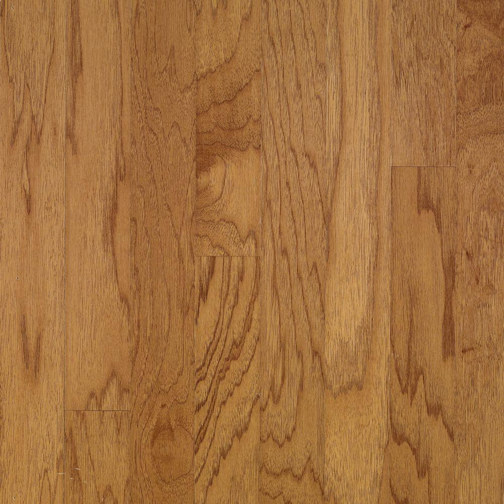 Town Hall Exotics Plank 3/8 in.Tx5 in. WxRandom Length Hickory Smoky Topaz Engineered Hardwood Flooring(28 sq. ft./case)
