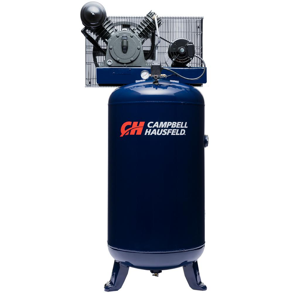 80 Gal. Vertical Electric Two Stage Stationary Air Compressor 14CFM 5HP