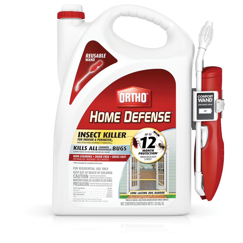 Ortho Home Defense Max 1 33 Gal Perimeter And Indoor Insect Killer With Wand