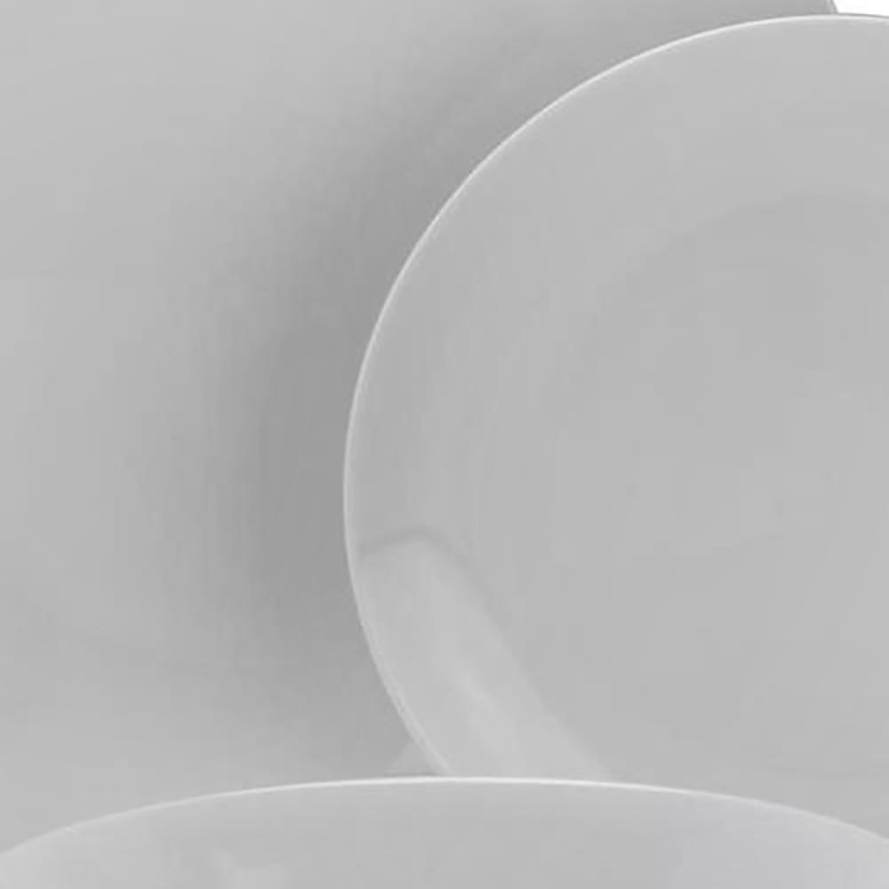 ee2d5ce9eb31 10 Strawberry Street 12-Piece White Coupe Dinnerware Set SM-1200-CP-W - The  Home Depot