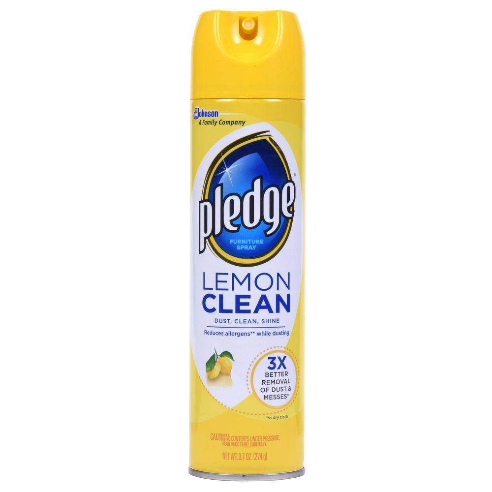 Pledge 9.7 oz. Lemon Clean Furniture Spray
