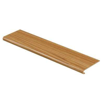 Oak / Yukon Oak 94 in. Long x 12-1/8 in. Deep x 1-11/16 in. Height Vinyl to Cover Stairs 1 in. Thick