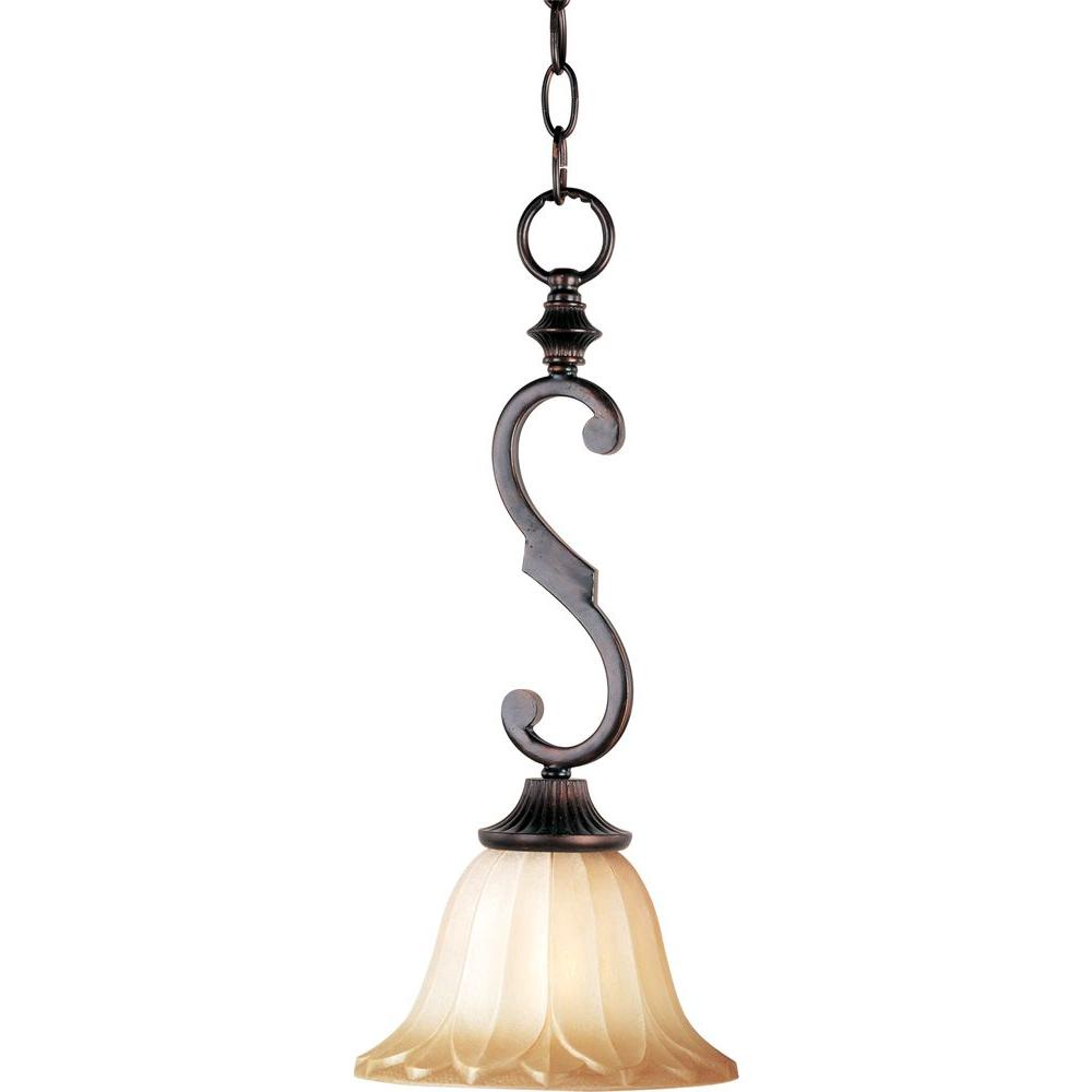 Allentown 1-Light Oil-Rubbed Bronze Mini Pendant