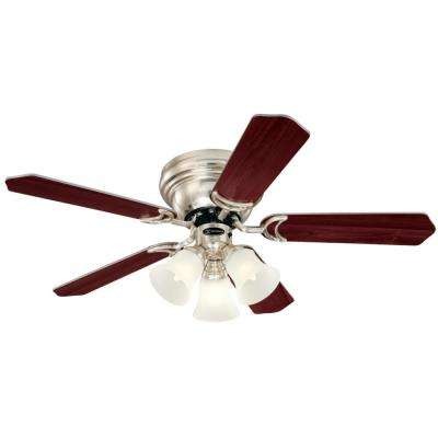 Contempra Trio 42 in. Brushed Nickel Ceiling Fan