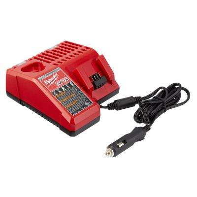 M12 and M18 12-Volt/18-Volt LIthium-ion Multi-Voltage 12V DC Vehicle Battery Charger