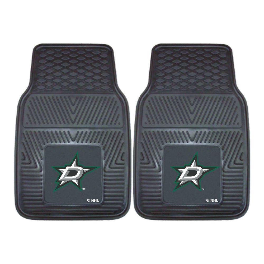 Fanmats Dallas Stars 18 In X 27 In 2 Piece Heavy Duty
