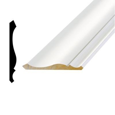 WPL 45 9/16 in. x 5-1/4 in. x 96 in. Primed Pine Finger-Jointed Crown Moulding