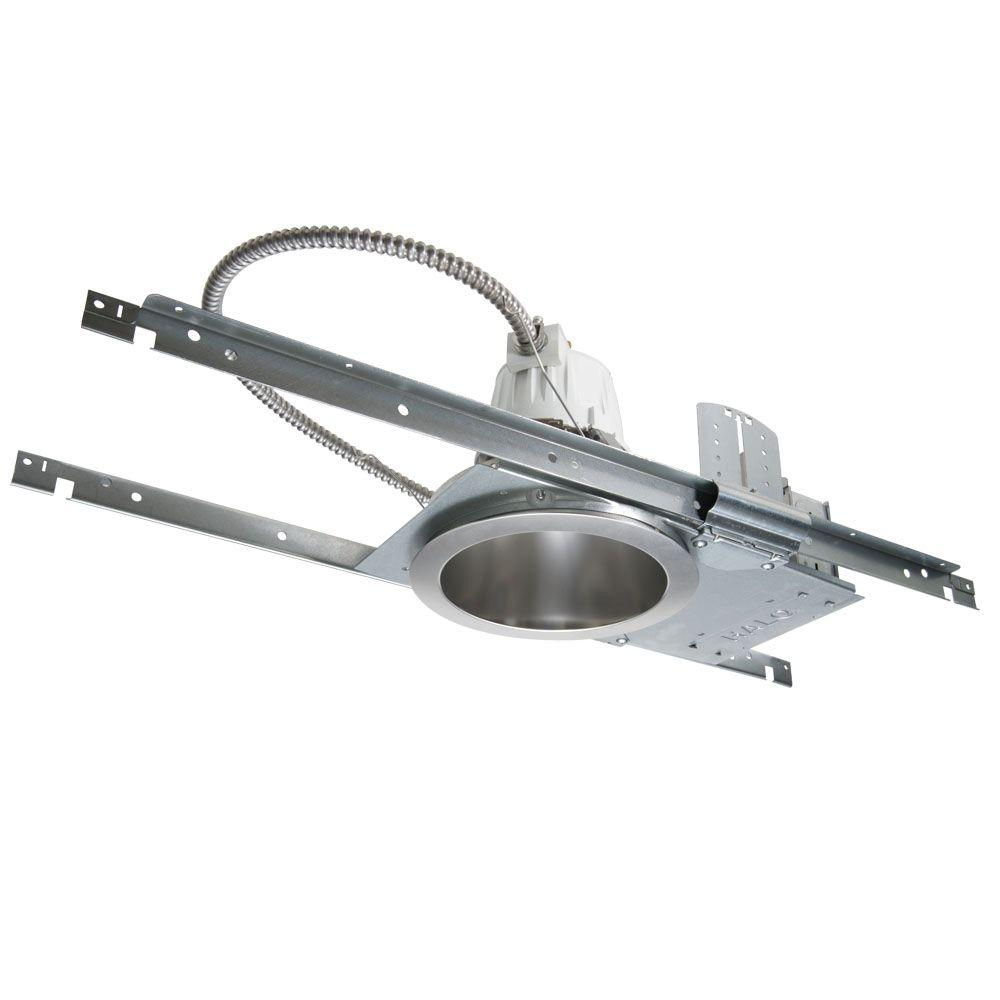 Aluminum LED Commercial Recessed Lighting Housing for New Construction Ceiling  sc 1 st  The Home Depot & Halo Commercial PD6 6 in. Aluminum LED Commercial Recessed ... azcodes.com