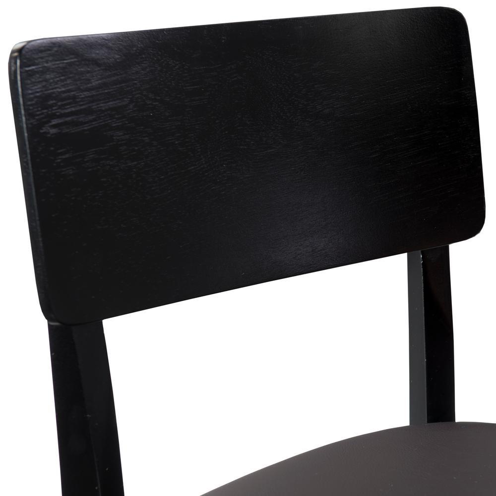 Remarkable Linon Home Decor Torino Contemporary Bar Stool 01855Blk 01 Andrewgaddart Wooden Chair Designs For Living Room Andrewgaddartcom