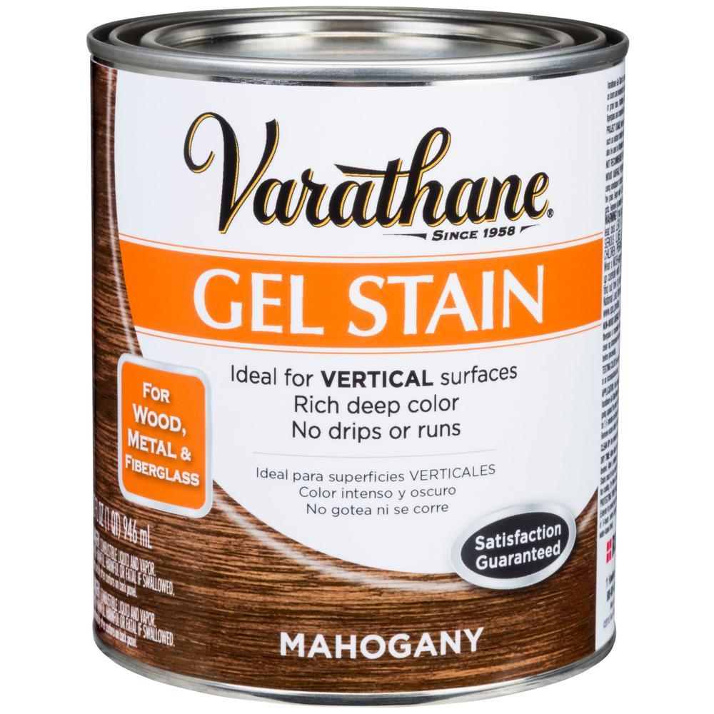 Varathane 1 Qt Mahogany Wood Interior Gel Stain 2 Pack