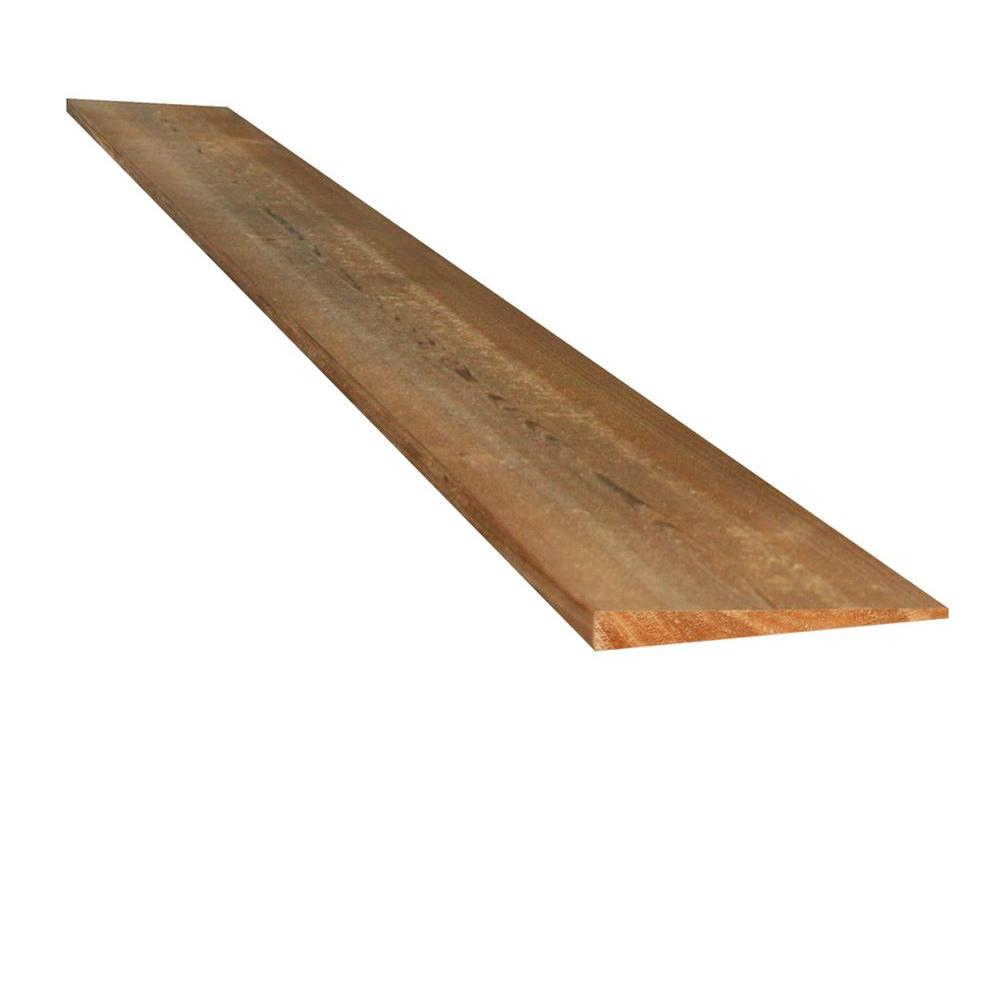 5 8 In X 6 In X 12 Ft Green Western Red Cedar Bevel Siding 0513232 The Home Depot