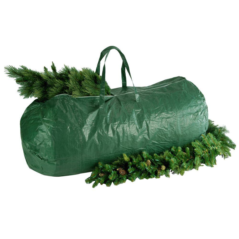 Christmas Tree Bags.National Tree Company Green Heavy Duty Tree Storage Bag With Handles And Zipper Fits Up To 9 Ft 29 In X 56 In