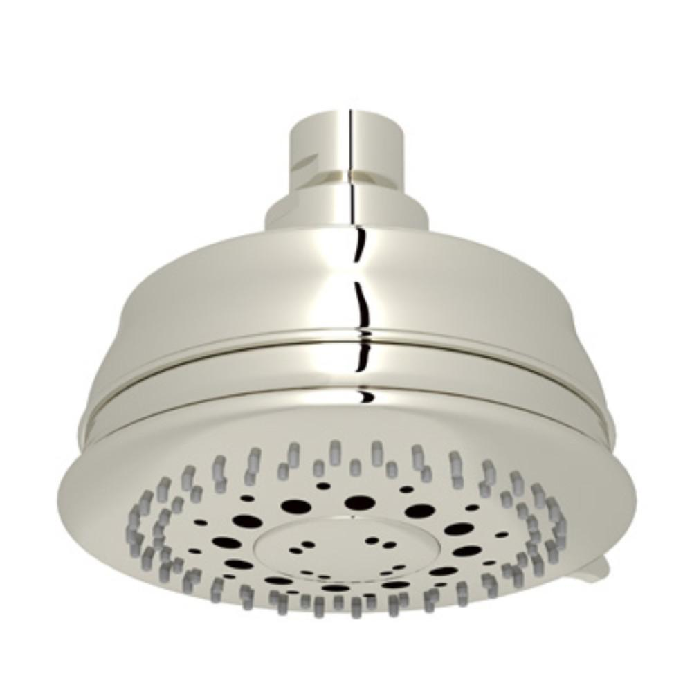 Rohl Baltera 3 Spray 4 31 In Fixed Showerhead Polished Nickel