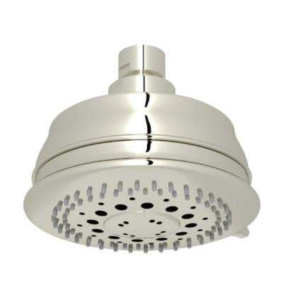 Baltera 3-Spray 4.31 in. Fixed Showerhead in Polished Nickel