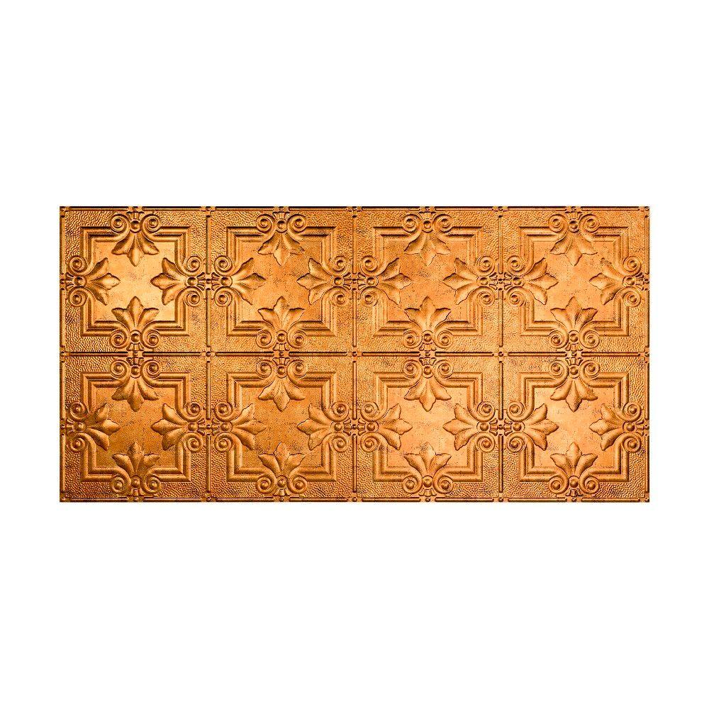 Regalia 2 ft. x 4 ft. Glue-up Ceiling Tile in Muted