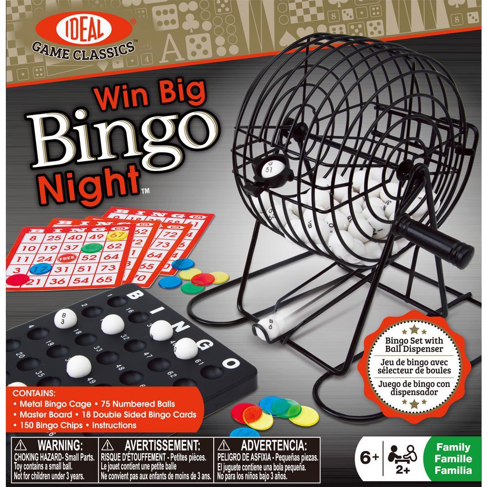 Win Big Bingo Night