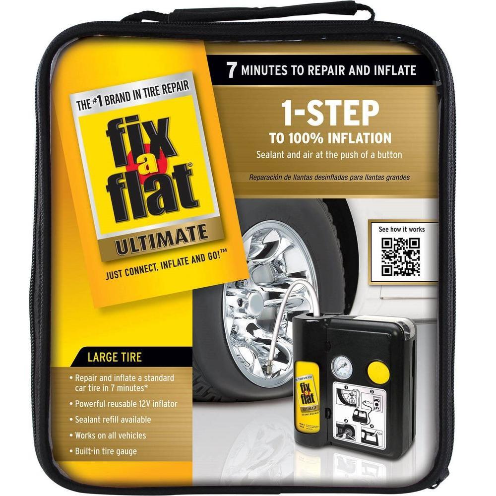 Ultimate 1-Step Tire Repair and Inflator
