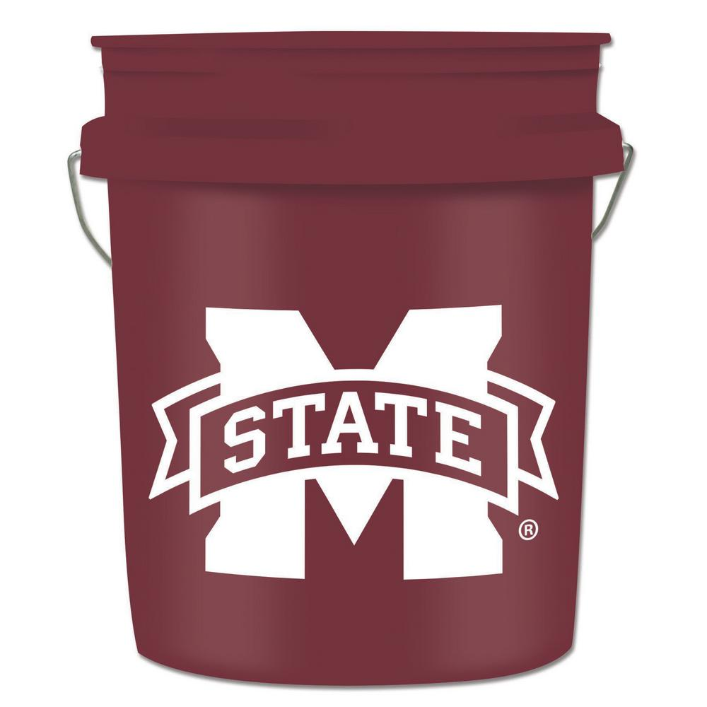 5 gal. Mississippi State College Bucket
