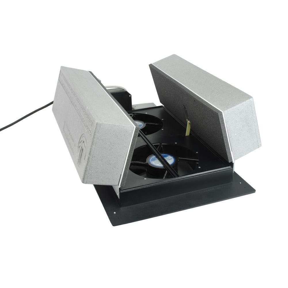 Tamarack 1000 CFM R-50 Insulated Whole House Fan