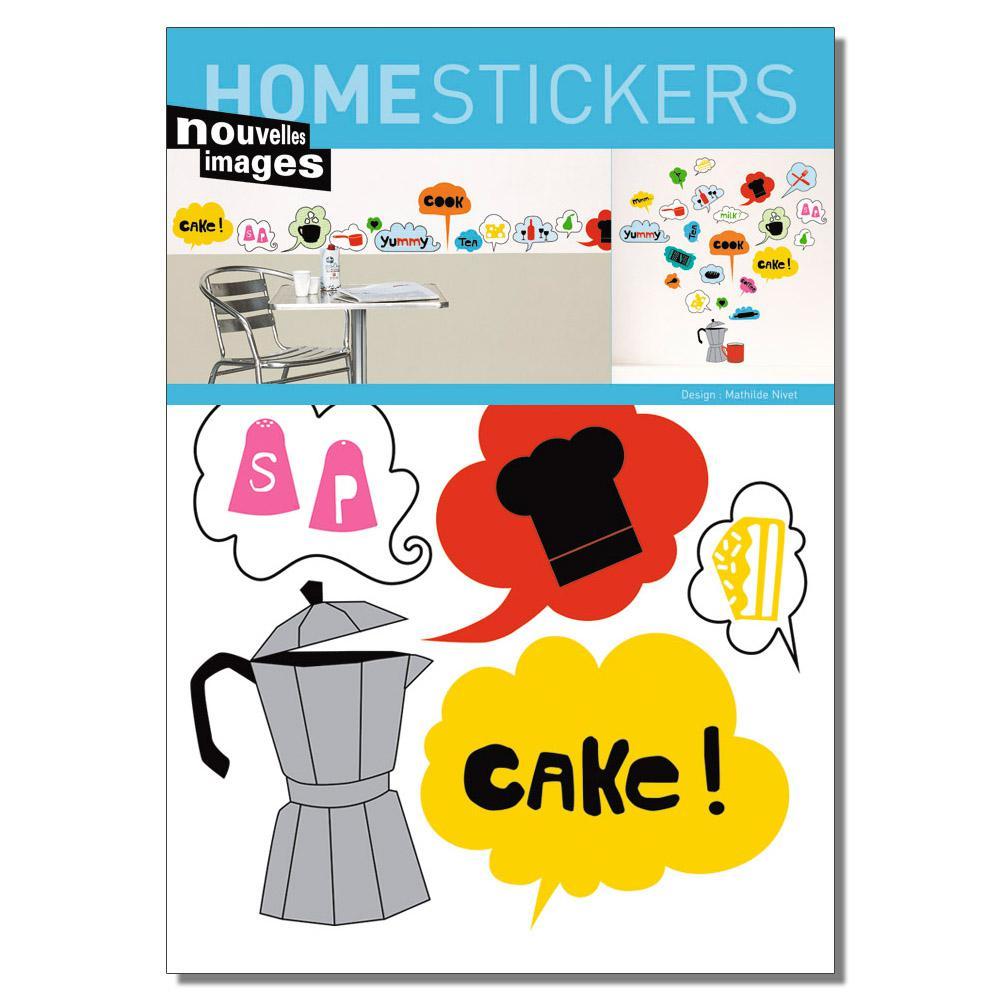 Multicolor Kitchen Home Sticker