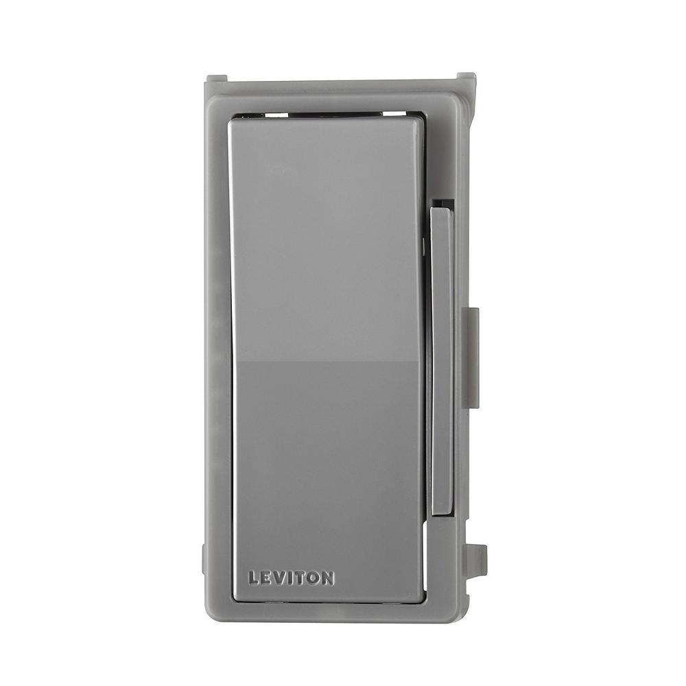 Decora Digital/Decora Smart Dimmer Color Change Kit, Gray