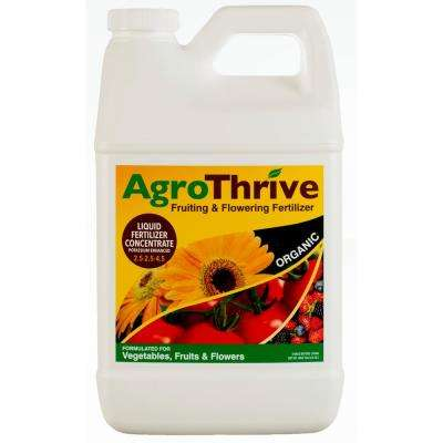 AgroThrive 64 oz. Fruiting and Flowering Organic Liquid Fertilizer