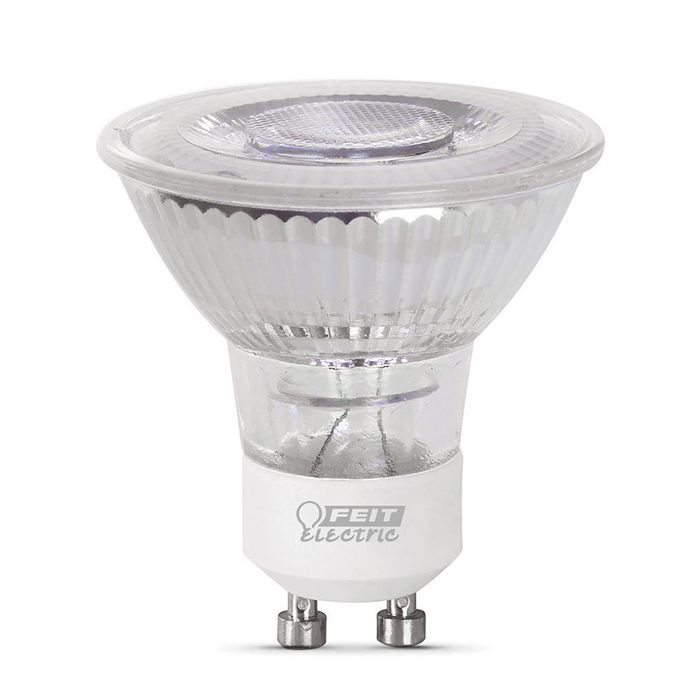 50-Watt Equivalent MR16 GU10 Dimmable LED 90+ CRI Flood Light Bulb, Daylight