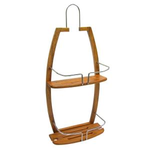 Click here to buy  Bamboo Shower Caddy.