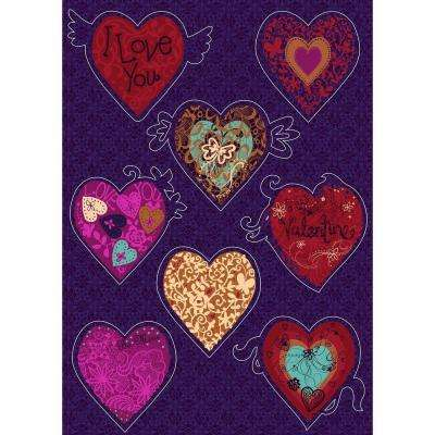 19 in. x 27 in. Valentine Wall Decal