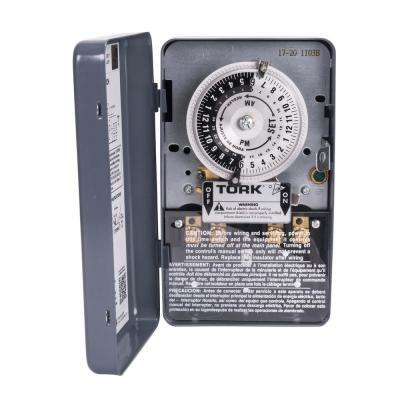 120-Volt 24-Hour Programmed Same Each Day Mechanical Time Switch