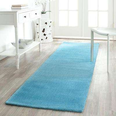 Himalaya Turquoise 2 ft. 3 in. x 8 ft. Runner Rug
