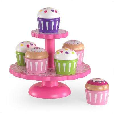 Cupcake Stand with Cupcakes Playset